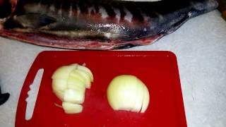 Готовим рыбу в духовке! Кета Амурская!