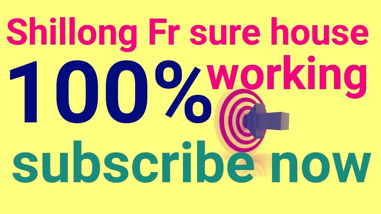 Shillong teer ka 100% sure house or ending - YouTube