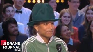 "Pharrell Williams et les différentes versions du clip ""Happy"" - Le Grand Journal Video"