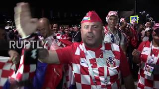 Russia: 'England, England, sorry for tonight' - Croatian fans overjoyed at semi-final win