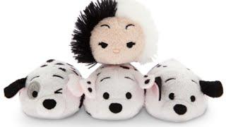 Disney Tsum Tsum 101 Dalmatians Collection - Your Video Checklist!