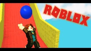Playing Obby by Roblox :D
