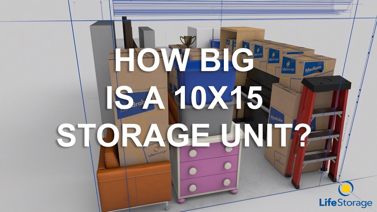 How to Pick the Best Storage Unit Size for Your Needs - Life