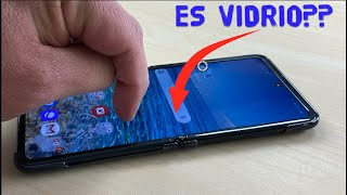 Es vidrio o Samsung nos engañó?