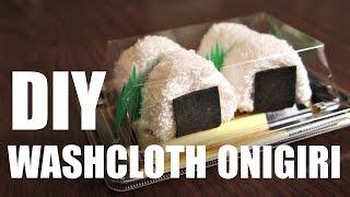 DIY GIFT IDEA | Washcloth ONIGIRI & SUSHI - Easy & Inexpensive Homemade Presents