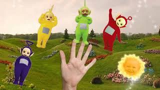 Семья пальчиков Телепузики песня, клип для малышей на русском языке | Диана шоу и Рома ш   #part 21