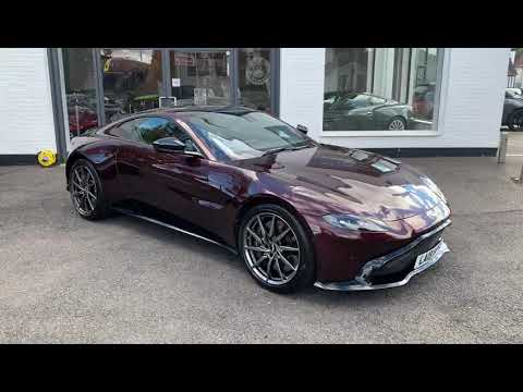 Aston Martin Vantage Divine Red Youtube