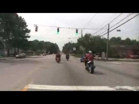 Dynasty MC Columbia on Charity Ride with the Black Devils of Sumter SC