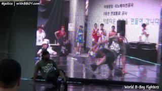 BEBO vs BLOND(w) | TOP8-2 | World B-Boy Fighterz 2012 @Gangnam