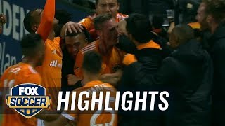 Dylan Remick equalizes for Houston Dynamo | 2017 MLS Playoffs Highlights