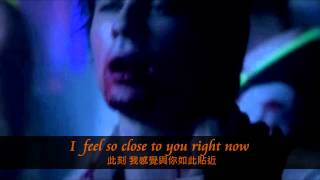 The Vampire Diaries 4x04, Calvin Harris - Feel So Close lyrics 中文字幕