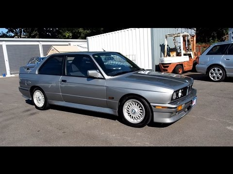 Walk Around - 1987 BMW E30 M3 - Japanese JDM Car Auctions - YouTube