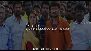 Yennanu Solvenno Naney | Podhuvaga Emmansu ❤Thangam Lyrical song ❤