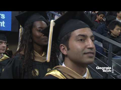 Georgia Tech Doctoral and Master's Ceremony 2016 Fall Commencement