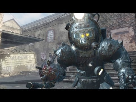 KINO DER TOTEN REMAKE - PANZER SOLDAT Call of Duty Zombies Custom Map Gameplay