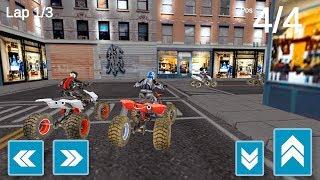 URBAN Quad Racing - quad bike racing Simulator - Gameplay Android games