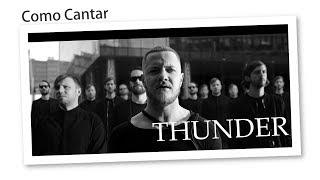Como Cantar Thunder - Imagine Dragons [Helder Cortez] Video