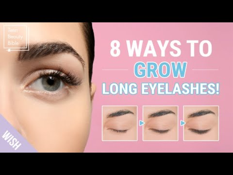 Top 8 Rules to Get Naturally Long, Thick & Healthy Eyelashes👀✨l How to Keep Lashes from Falling Out thumbnail