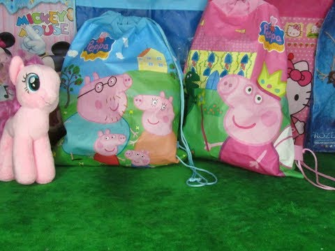 Peppa Pig Blindbag Opening with My Little Pony - Lots of Fun