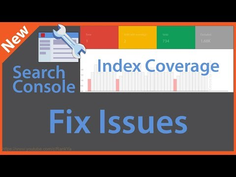 Fix Index Coverage issues detected in Google Search Console WordPress