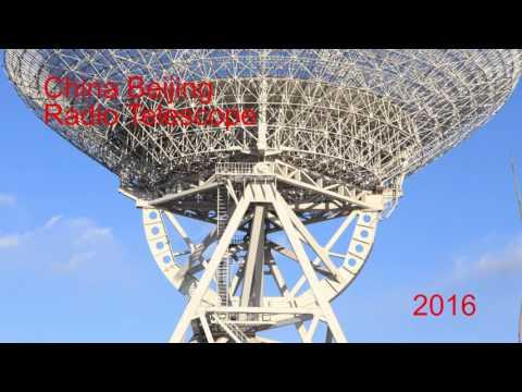 2016 China Beijing Radio Telescope Perfect