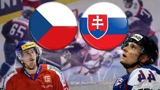 ČESKO - SLOVENSKO   DERBY A OBROVSKÉ DRAMA AŽ DO KONCE!   MS 2018   NHL 18   CZ/SK