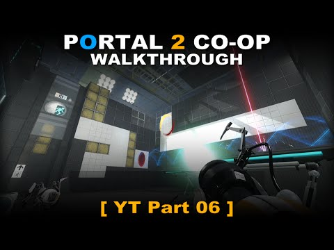 Portal 2 CO-OP walkthrough 06 ( No commentary ✔ ) Art Therapy #01