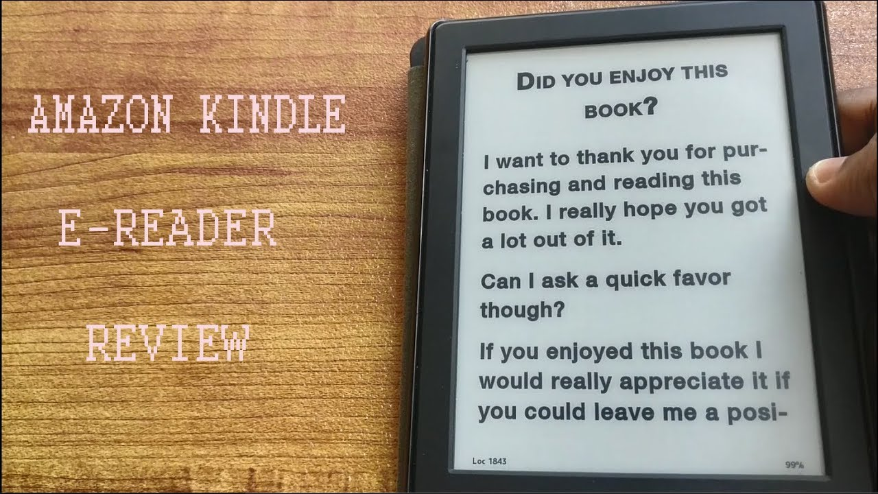 Amazon Kindle 8th Gen E-Reader Review