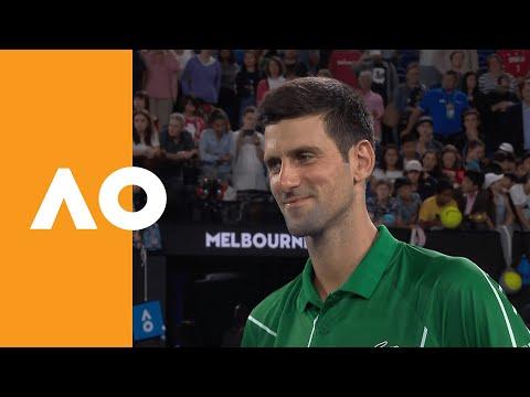 Novak Djokovic Interview After 900th Career Win | Australian Open 2020 R1