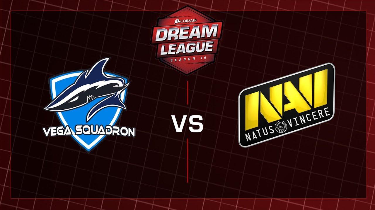 Vega Squadron vs Na'Vi – Game 2 – CORSAIR DreamLeague – Season 10