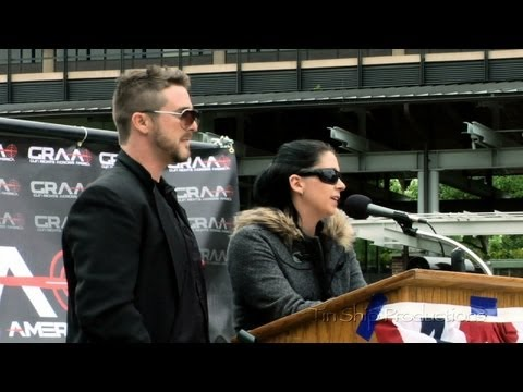 "Save the Second Rally 2013 - ""Sons Of Guns"" Stephanie Hayden ..."