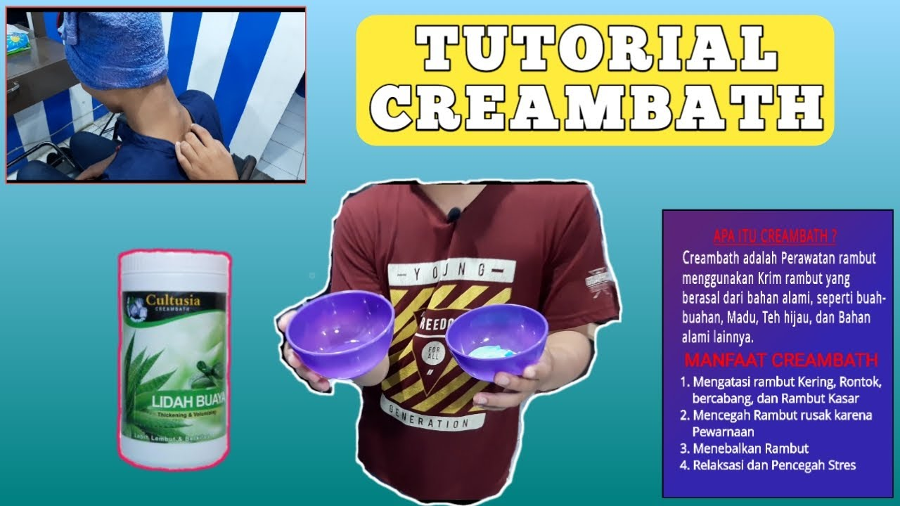 Tutorial Creambath Manfaat Creambath Rafli Barbershop Youtube