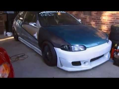 JDM AWD civic 4×4 reborn with a b16a engine