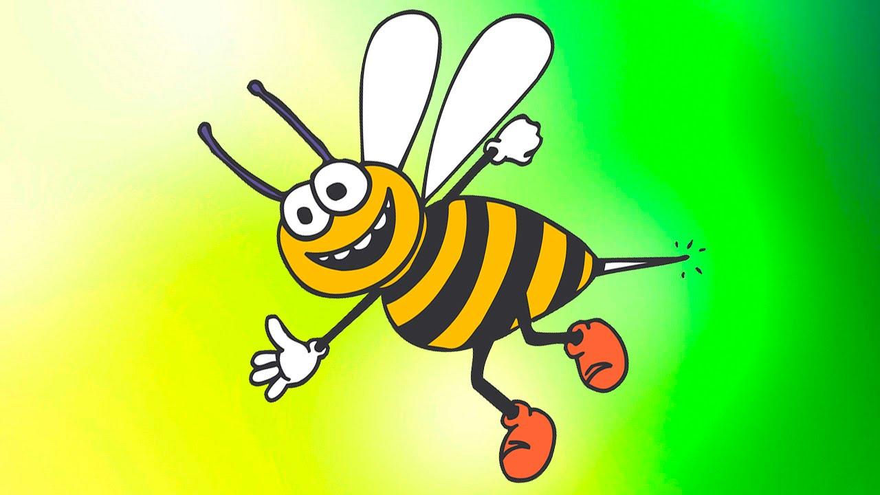 Картинки из мультфильмов пчела