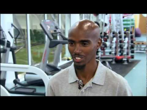 ARSENAL: Mo Farah - Arsenal Training Ground! [HD]