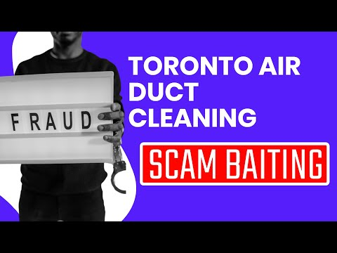Indian Phone Scammers - Toronto air duct cleaning services