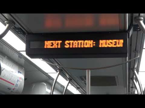 Night Ride On The Houston METRORail Red Line