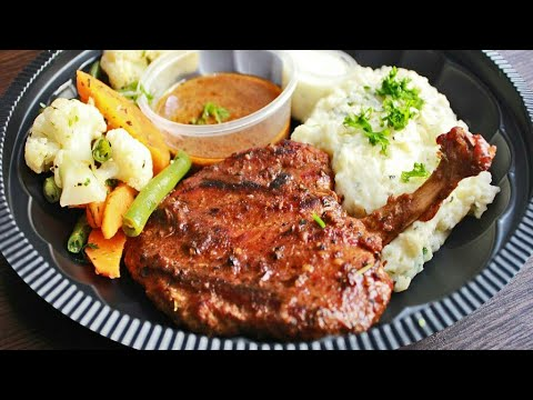 Chicken Steak Recipe In Urdu|Easy Chicken Steak Recipe By Iqbal Shah