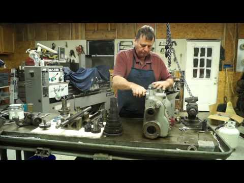 Pratt & Whitney Lathe Restoration 6B ( Quick Change)