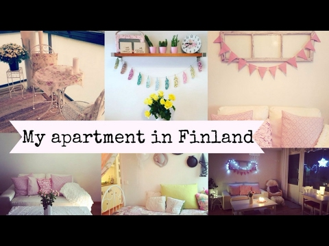 My Finland Apartment Tour!