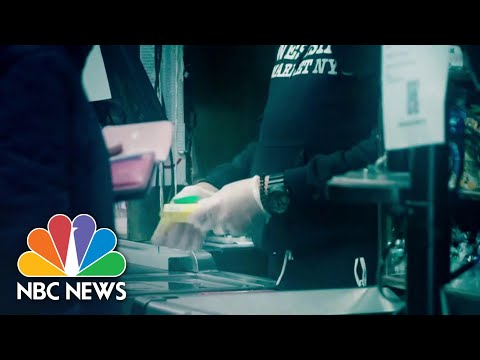 Coronavirus Pandemic Puts Grocery Workers' Health At Risk | NBC Nightly News
