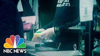 Coronavirus Pandemic Puts Grocery Workers' Health At Risk | NBC Nightly News