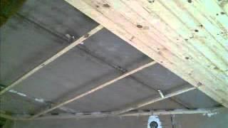 Облицовка сосновой вагонкой потолка(ремонт своими руками., 2014-01-23T10:02:10.000Z)