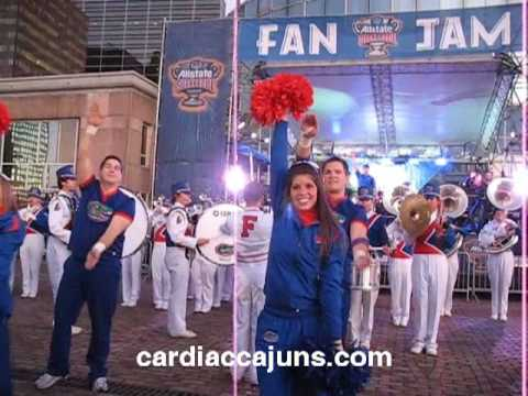 Florida Gators Gator Chomp Go Gators at Sugar Bowl Fan Jam Pep Rally Game Day