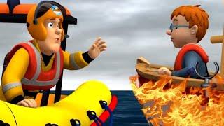 Sam el Bombero en Español 🌟🌟Cubriendo la tormenta de fuego | Pelicula completa dibujos animados