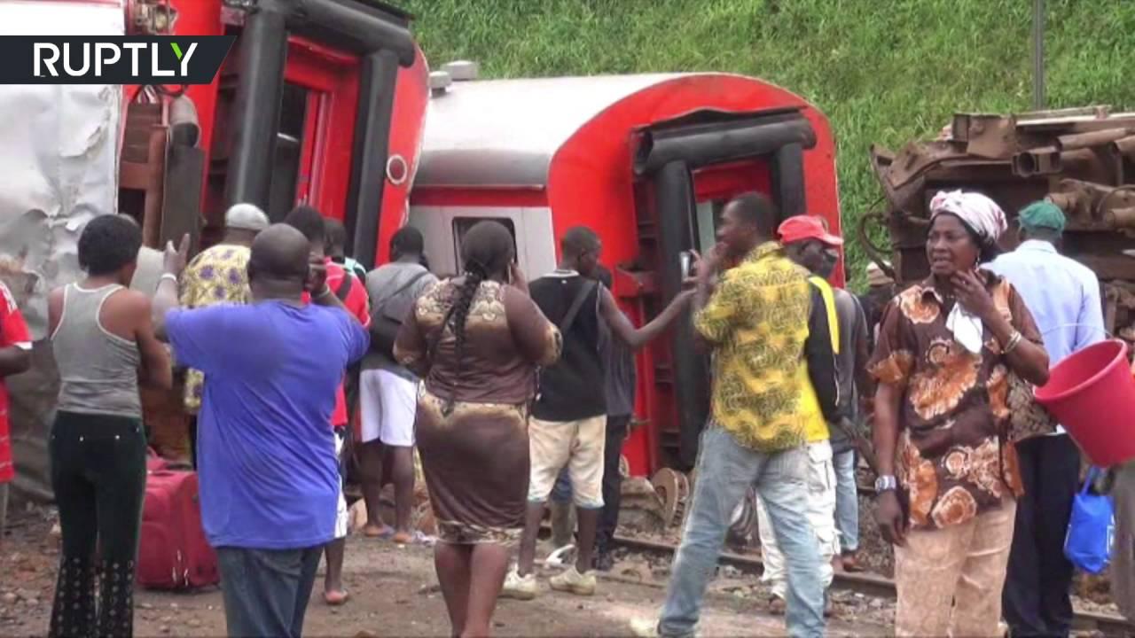 В Камеруне переполненный поезд сошел с рельсов, 53 человека погибли