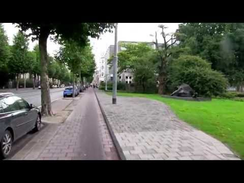 a long bicycle ride Amsterdam