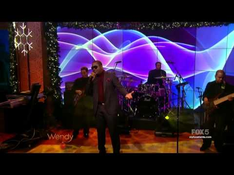 Mostai live with Johnny Gill on the Wendy Williams morning show