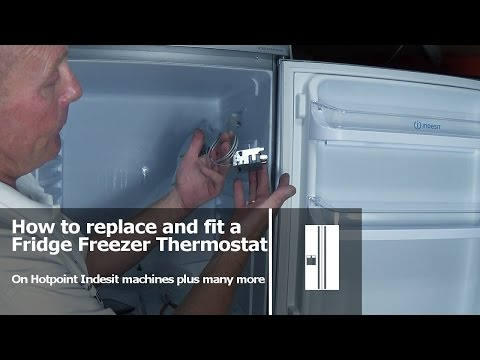 Refrigerator Thermostat Wiring Diagram Power Window Toyota Corolla How To Replace A Fridge Freezer Youtube 15 07
