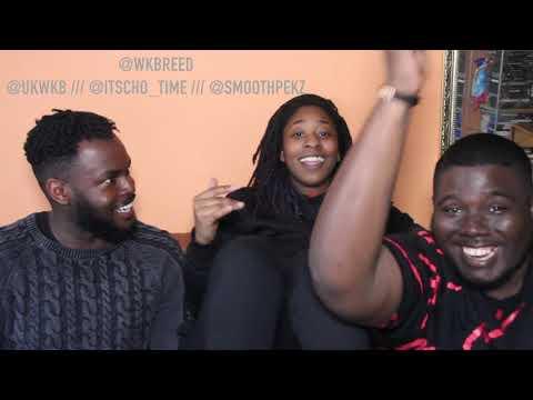 VOSSI BOP - STORMZY!!!!  WKBREED REACTION VIDEO